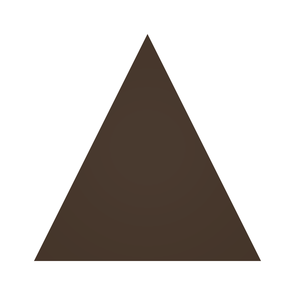 Picture of Unturned Item: Large Pine Plate (Equilateral)