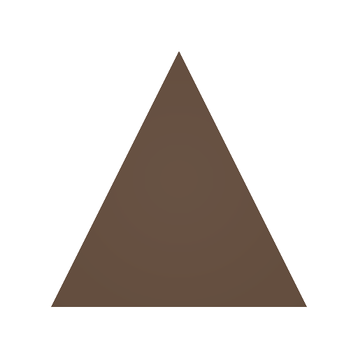 Picture of Unturned Item: Small Maple Plate (Equilateral)