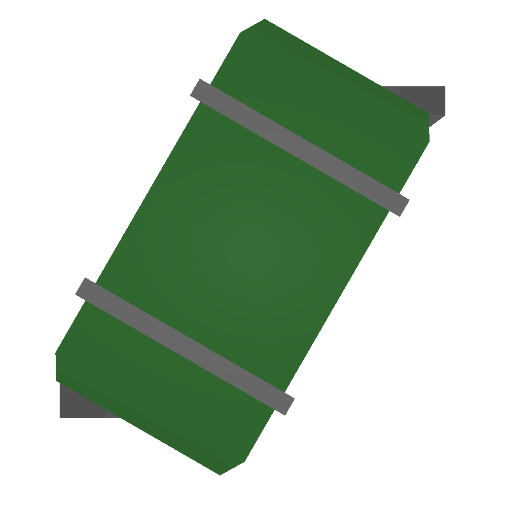 Picture of Unturned Item: Green Duffelbag