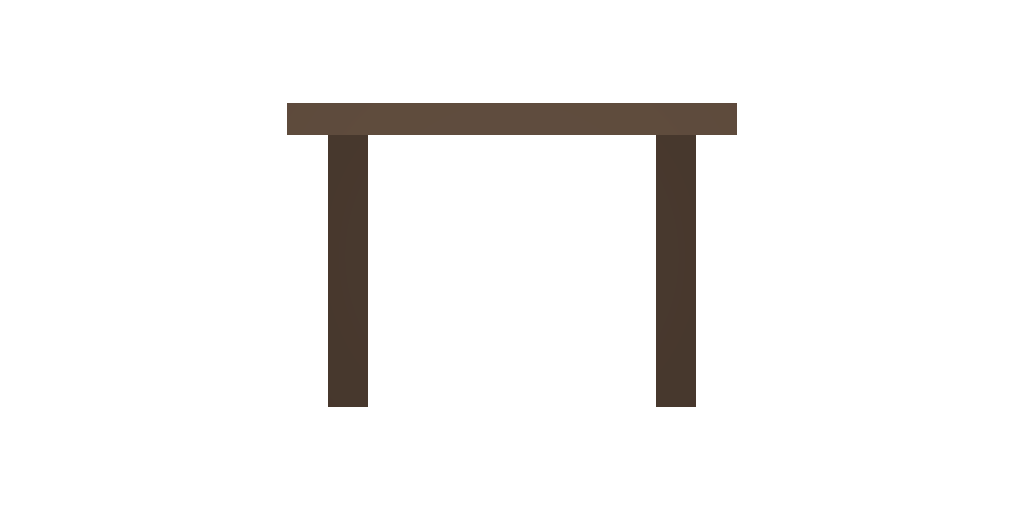 Picture of Unturned Item: Pine Square Table