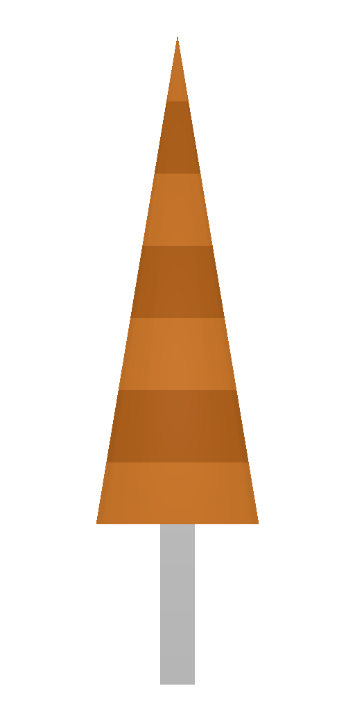 Picture of Unturned Item: Orange Umbrella (Barricade)