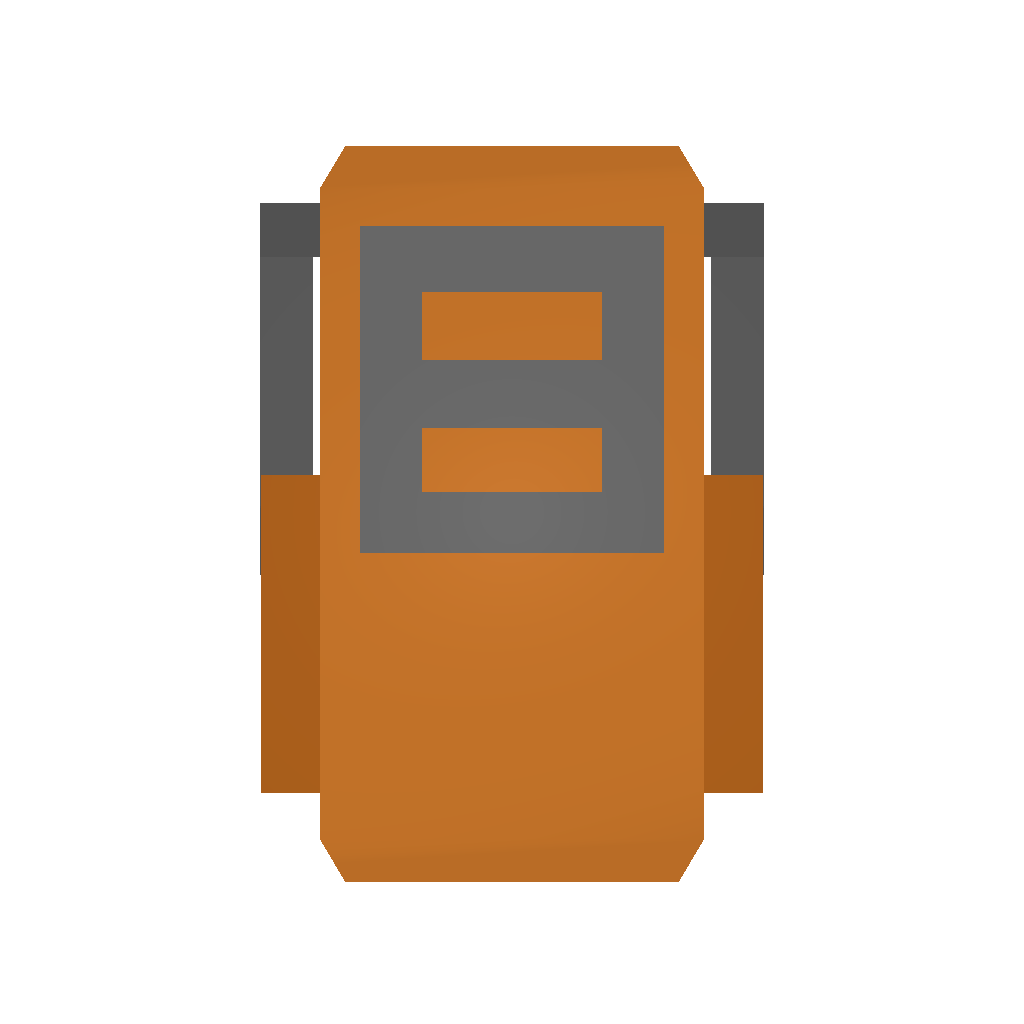 Picture of Unturned Item: Orange Travelpack