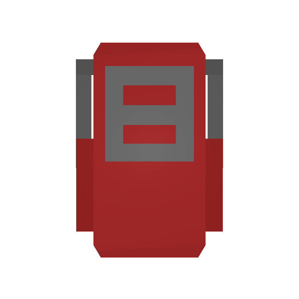 Picture of Unturned Item: Red Travelpack