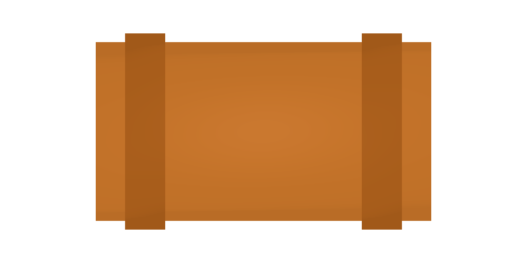 Picture of Unturned Item: Orange Bedroll